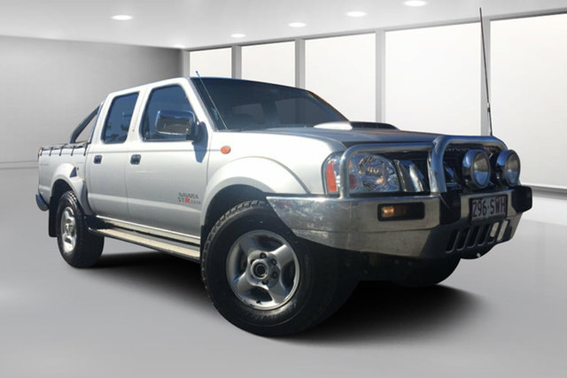 Used Nissan Navara D22 Series 5 ST-R (4x4), 2013 Nissan Navara D22 Series 5 ST-R (4x4) Silver 5 Speed Manual Dual Cab Pick-up