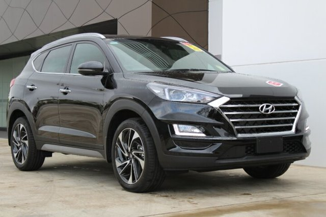 Demo Hyundai Tucson TLE3 MY19 Special Edition D-CT AWD, 2018 Hyundai Tucson TLE3 MY19 Special Edition D-CT AWD Phantom Black 7 Speed