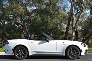 2017 Abarth 124 348 Spider White 6 Speed Sports Automatic Roadster.