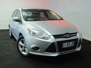 2015 Ford Focus LW MkII MY14 Trend PwrShift Silver 6 Speed Sports Automatic Dual Clutch Hatchback.