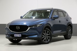 2017 Mazda CX-5 MY17 Akera (4x4) Blue 6 Speed Automatic Wagon.