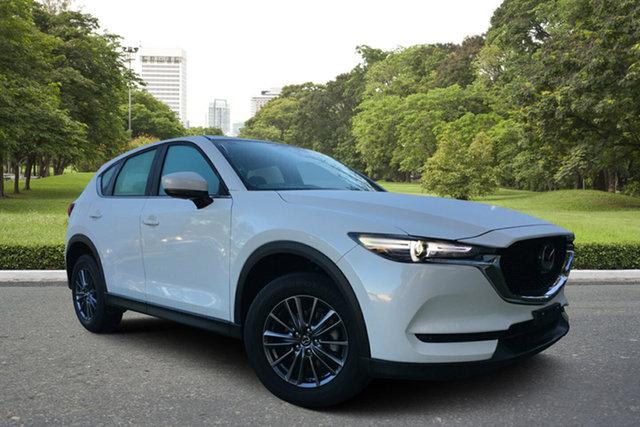 Used Mazda CX-5 KF2W7A Maxx SKYACTIV-Drive FWD Sport, 2018 Mazda CX-5 KF2W7A Maxx SKYACTIV-Drive FWD Sport White 6 Speed Sports Automatic Wagon