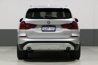 2018 BMW X3 G01 MY18.5 xDrive 30I Silver 8 Speed Automatic Wagon