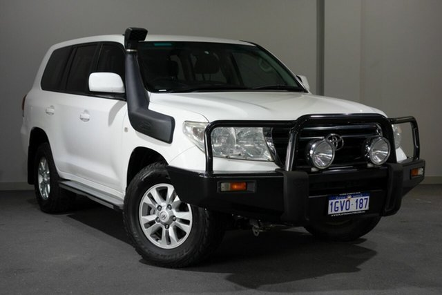 Used Toyota Landcruiser VDJ200R GXL, 2008 Toyota Landcruiser VDJ200R GXL White 6 Speed Sports Automatic Wagon