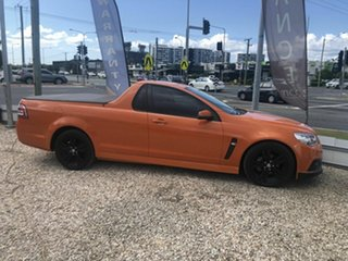 2013 Holden Commodore Ute VF SV6 Orange 6 Speed Manual Utility