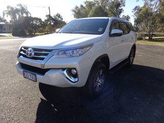 2018 Toyota Fortuner GUN156R GXL Crystal Pearl 6 Speed Automatic Wagon