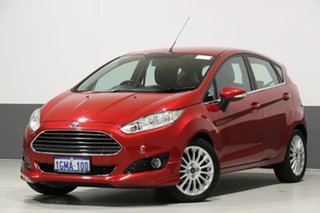2016 Ford Fiesta WZ Sport Red 6 Speed Automatic Hatchback.