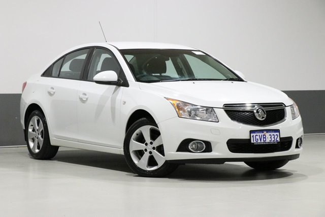 Used Holden Cruze JH MY14 Equipe, 2014 Holden Cruze JH MY14 Equipe White 6 Speed Automatic Sedan
