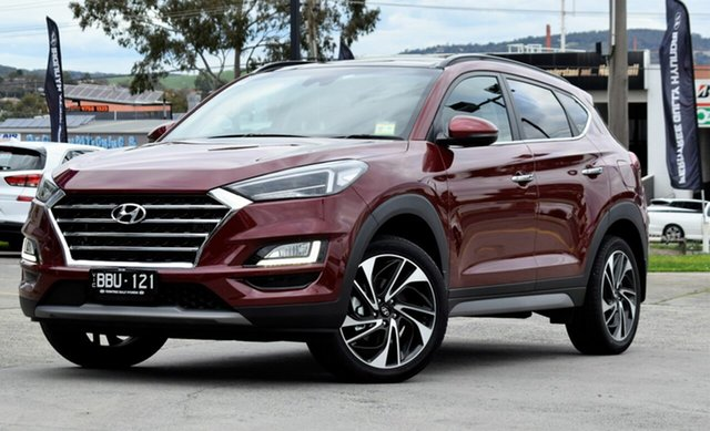 Demo Hyundai Tucson TL3 MY19 Highlander AWD, 2018 Hyundai Tucson TL3 MY19 Highlander AWD Gemstone Red 8 Speed Sports Automatic Wagon