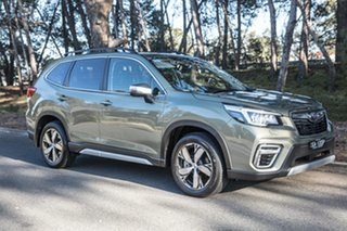 2019 Subaru Forester S5 MY19 2.5i-S CVT AWD Jasper Green Metallic 7 Speed Constant Variable Wagon.