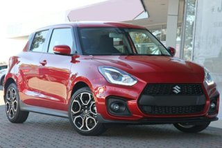 2020 Suzuki Swift AZ Sport Red 6 Speed Sports Automatic Hatchback.