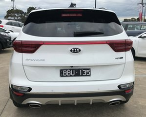 2019 Kia Sportage QL MY19 GT-Line AWD Clear White 8 Speed Sports Automatic Wagon