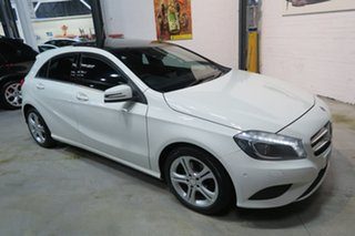 2013 Mercedes-Benz A180 W176 D-CT White 7 Speed Sports Automatic Dual Clutch Hatchback.