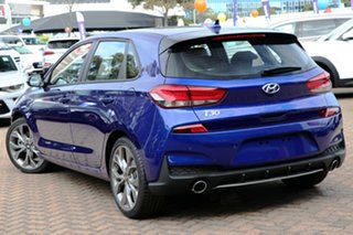 2019 Hyundai i30 PD.3 MY19 N Line D-CT Intense Blue 7 Speed Sports Automatic Dual Clutch Hatchback.