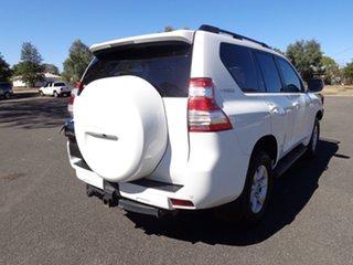 2015 Toyota Landcruiser Prado GDJ150R MY16 GXL (4x4) Glacier White 6 Speed Manual Wagon.