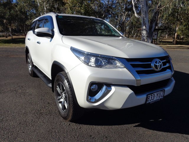 Demo Toyota Fortuner GUN156R GXL, 2018 Toyota Fortuner GUN156R GXL Crystal Pearl 6 Speed Automatic Wagon