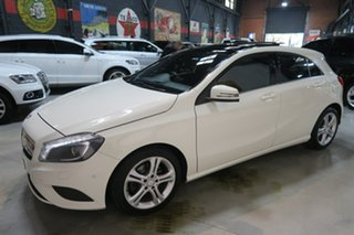 2013 Mercedes-Benz A180 W176 D-CT White 7 Speed Sports Automatic Dual Clutch Hatchback