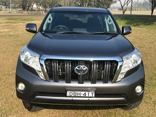 2015 Toyota Landcruiser Prado GDJ150R MY16 GXL (4x4) Graphite 6 Speed Automatic Wagon