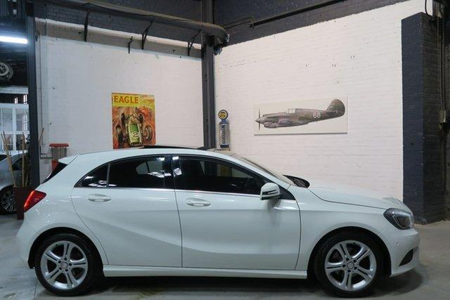 Used Mercedes-Benz A-Class W176 , 2013 Mercedes-Benz A-Class W176 White 7 Speed Sports Automatic Dual Clutch Hatchback