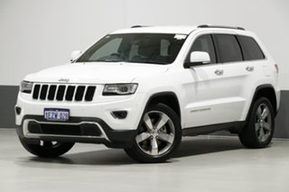 2016 Jeep Grand Cherokee WK MY15 Limited (4x4) White 8 Speed Automatic Wagon.