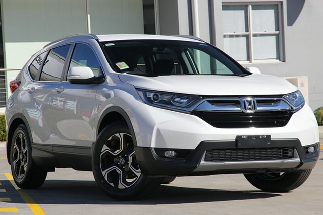New Honda CR-V RW MY19 50 Years Edition FWD, 2019 Honda CR-V RW MY19 50 Years Edition FWD Platinum White 1 Speed Constant Variable Wagon