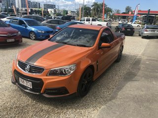 2013 Holden Commodore Ute VF SV6 Orange 6 Speed Manual Utility.