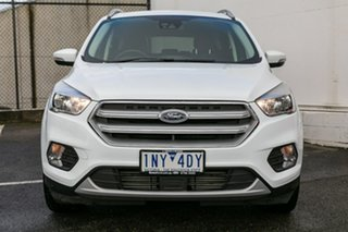 2018 Ford Escape ZG 2018.00MY Trend AWD White 6 Speed Sports Automatic Wagon