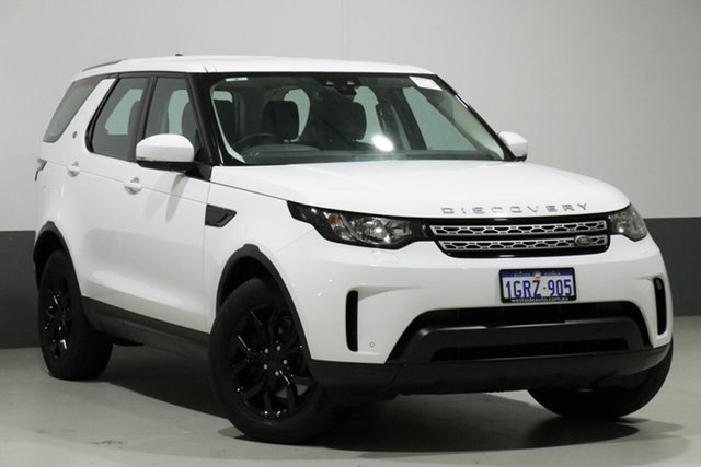 Used Land Rover Discovery MY18 TD4 S (132kW), 2017 Land Rover Discovery MY18 TD4 S (132kW) White 8 Speed Automatic Wagon