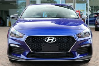 2020 Hyundai i30 PD.3 MY20 N Line Intense Blue 7 Speed Auto Dual Clutch Hatchback
