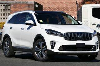 2019 Kia Sorento UM MY19 GT-Line AWD Clear White 8 Speed Sports Automatic Wagon.