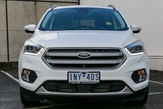 2018 Ford Escape ZG 2018.75MY Titanium PwrShift AWD White 6 Speed Sports Automatic Dual Clutch Wagon