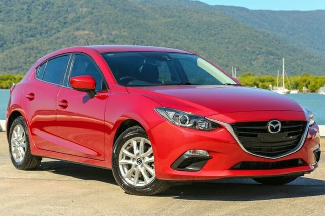 Used Mazda 3 BM5478 Maxx SKYACTIV-Drive, 2014 Mazda 3 BM5478 Maxx SKYACTIV-Drive Red 6 Speed Sports Automatic Hatchback