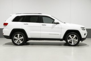 2016 Jeep Grand Cherokee WK MY15 Limited (4x4) White 8 Speed Automatic Wagon