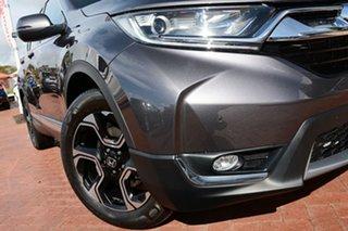 2017 Honda CR-V RW MY18 VTi-S 4WD Modern Steel 1 Speed Wagon.