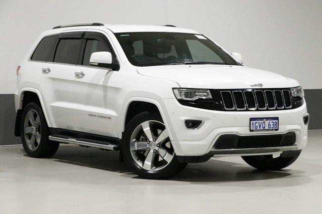 Used Jeep Grand Cherokee WK MY15 Limited (4x4), 2016 Jeep Grand Cherokee WK MY15 Limited (4x4) White 8 Speed Automatic Wagon