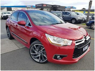 2013 Citroen DS4 F7 DSport THP 200 Red Manual Hatchback.
