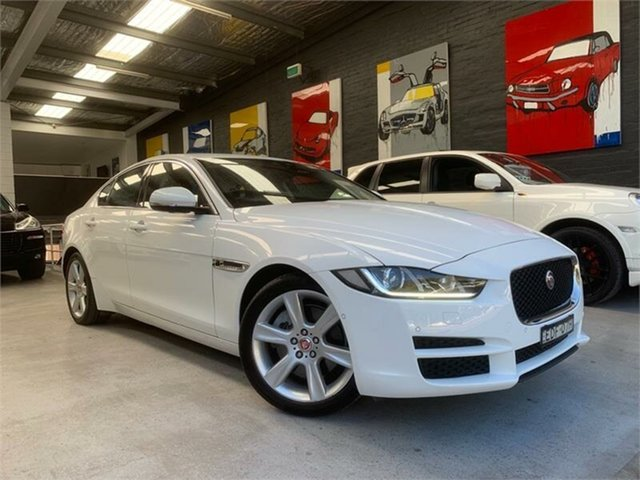 Used Jaguar XE X760 20t, 2015 Jaguar XE X760 20t White Sports Automatic Sedan