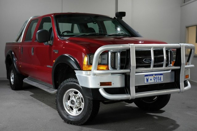 Used Ford F250 RN XLT, 2005 Ford F250 RN XLT Red 4 Speed Automatic Utility