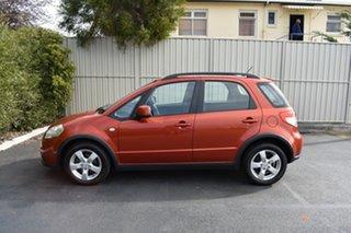 2011 Suzuki SX4 GYA MY10 S Red/Black 6 Speed Constant Variable Hatchback.