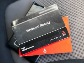 2011 Mitsubishi Triton MN MY11 GLX Double Cab 4x2 White 4 Speed Automatic Utility