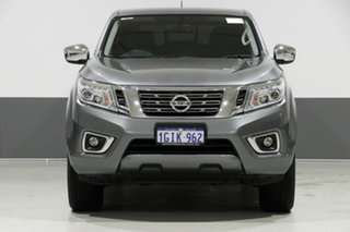 2017 Nissan Navara D23 Series II ST (4x4) Grey 7 Speed Automatic Dual Cab Utility.