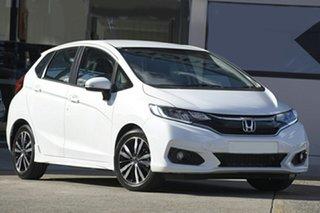 2020 Honda Jazz GF MY21 VTi-L Platinum White 1 Speed Constant Variable Hatchback.