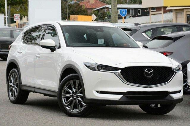 New Mazda CX-5 KF4WLA Akera SKYACTIV-Drive i-ACTIV AWD Hamilton, 2020 Mazda CX-5 KF4WLA Akera SKYACTIV-Drive i-ACTIV AWD Snowflake White Pearl 6 Speed