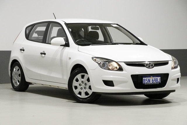Used Hyundai i30 FD MY12 SX, 2012 Hyundai i30 FD MY12 SX White 5 Speed Manual Hatchback