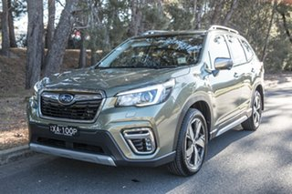 2019 Subaru Forester S5 MY19 2.5i-S CVT AWD Jasper Green Metallic 7 Speed Constant Variable Wagon