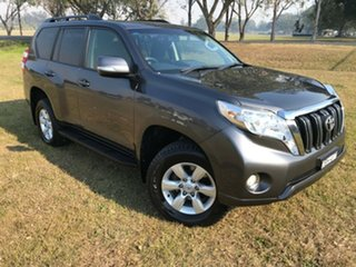 2015 Toyota Landcruiser Prado GDJ150R MY16 GXL (4x4) Graphite 6 Speed Automatic Wagon.