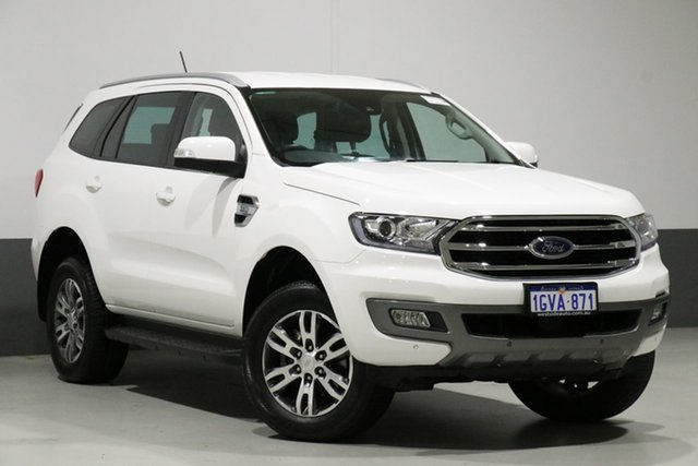 Used Ford Everest UA II MY19 Trend (4WD 7 Seat), 2018 Ford Everest UA II MY19 Trend (4WD 7 Seat) White 6 Speed Automatic Wagon