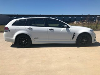 2014 Holden Commodore VF MY14 SS V Sportwagon White 6 Speed Sports Automatic Wagon.