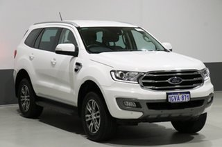 2018 Ford Everest UA II MY19 Trend (4WD 7 Seat) White 6 Speed Automatic Wagon