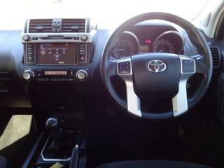 2015 Toyota Landcruiser Prado GDJ150R MY16 GXL (4x4) Glacier White 6 Speed Manual Wagon